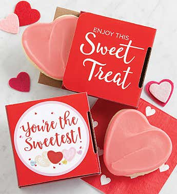 Youre the Sweetest Valentines Day Cookie Card