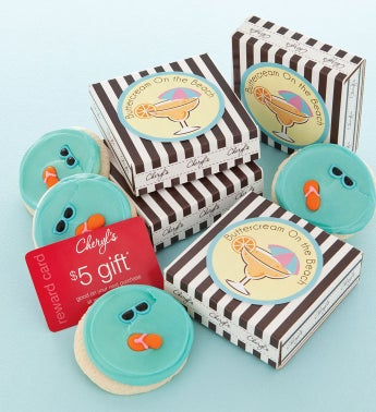 Buttercream on the Beach Cookie & Gift Card