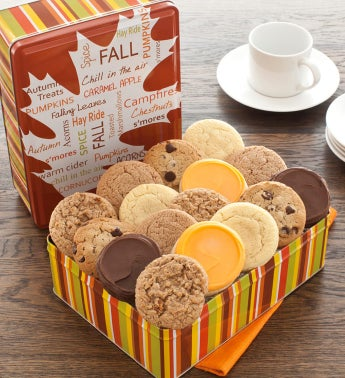 Autumn Gift Tin Sugar Free Assortment
