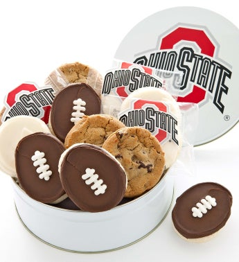 Ohio State Gift Tin - Assorted Cookies