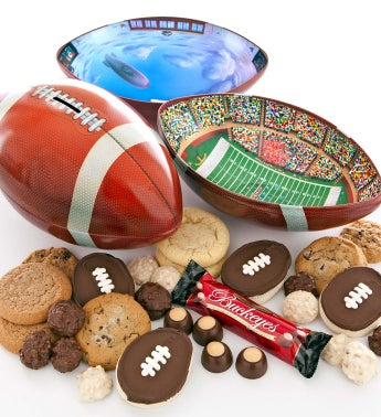 Football Gift Tin of Treats