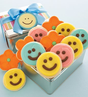 Happy Faces Gift Tin