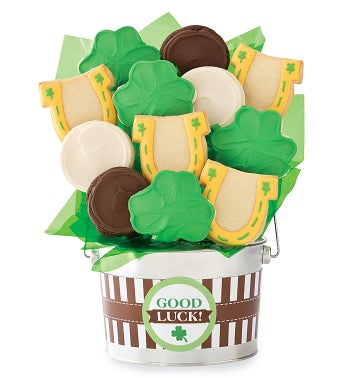 Good Luck Cookie Flower Pot