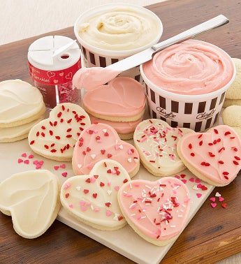 Valentines Day Cutout Cookie Kit