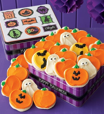 Grand Halloween Tin - 24 Cutouts