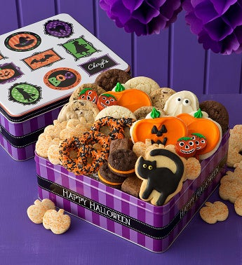 Grand Halloween Tin - Treats Assortment