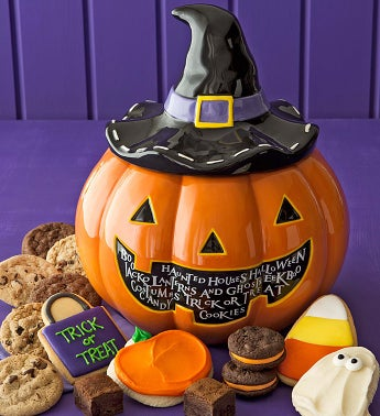 Halloween Cookie Jar - Treats