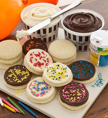 Birthday Cutout Cookie Decorating Kit