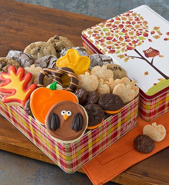 Autumn Tin - Treats Assortment