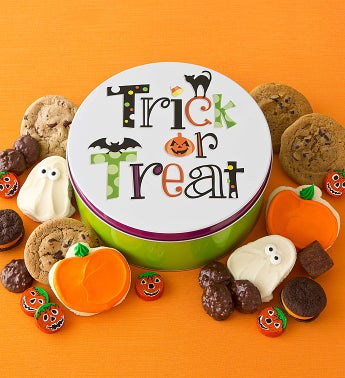 Halloween Treats Tin