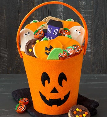 Halloween Trick or Treat Tote - Jack o Lantern