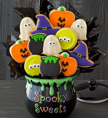 Halloween Cookie Flower Centerpiece