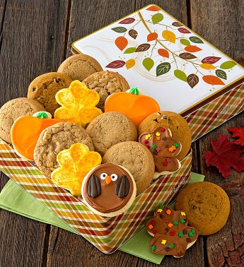 Thanksgiving Treats Gift Tin - Assortment