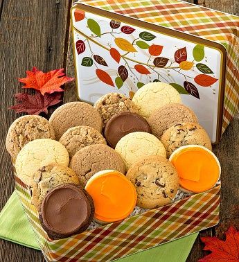 Thanksgiving Treats Gift Tin - Sugar Free