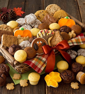 Thanksgiving Snack Basket - Large