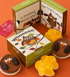 Fall Owl Cookie & Gift Card 2 Pack