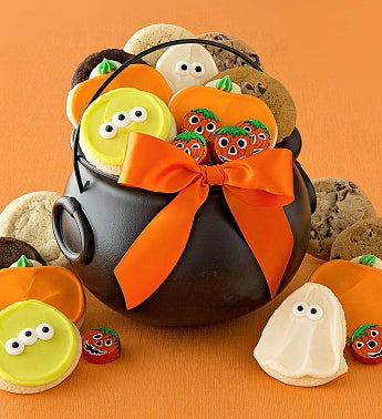 Halloween Cauldron Treats Gift