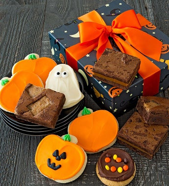 Halloween Cookies and Brownies