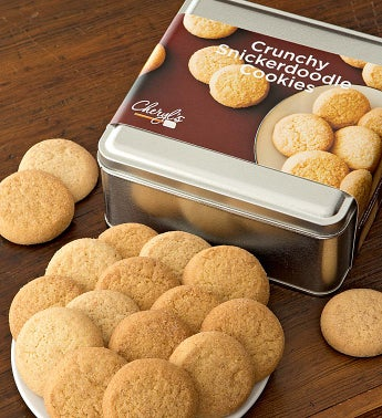 Cheryl's Snickerdoodle Cookie Gift Tins