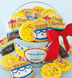 Too Many Candles Frosted Cookie Pail