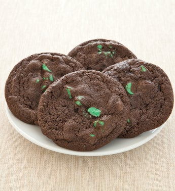 Flavor of the Month - Chocolate Mint Chip Cookies