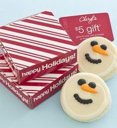 Snowman Cookie & Gift Card