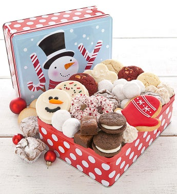 Joy Holiday Tin Treats Assortment