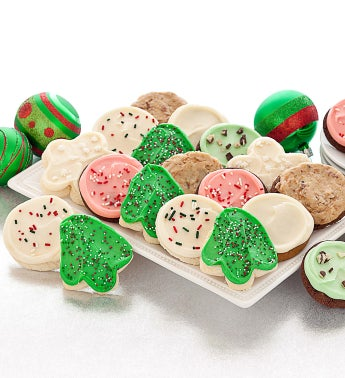 Buttercream Frosted Holiday Cookie Assortment