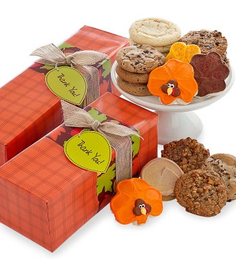 Thanksgiving Cookie Box Assorted Cookies
