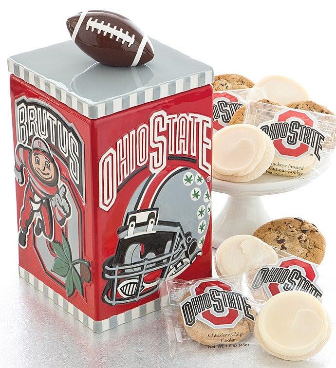 Mccoys Christmas Trees: Ohio State Cookie Jar
