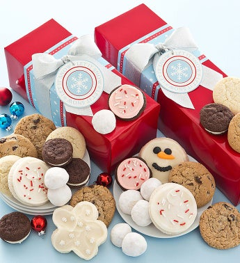 Sweet Holiday Cheer Cookie Gift Boxes