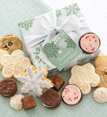 Elegant Holiday Treats Box