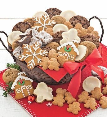 Holiday Gingerbread Gift Basket