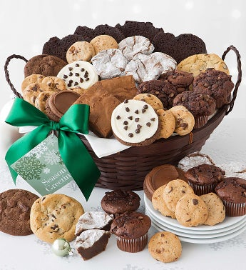 Holiday Chocolate Gift Basket