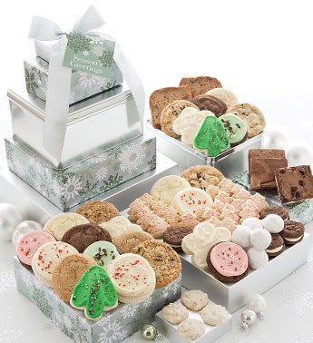 Elegant Holiday Premier Gift Tower