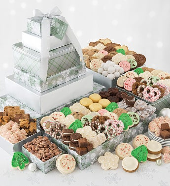Elegant Holiday Deluxe Gift Tower