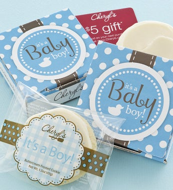 Its a Boy Cookie & Gift Card