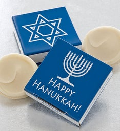 Happy Hanukkah Cookie & Gift Card