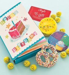 Birthday Party Cookie Card