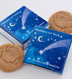 Somewhere Out There Delilah Cookie Card
