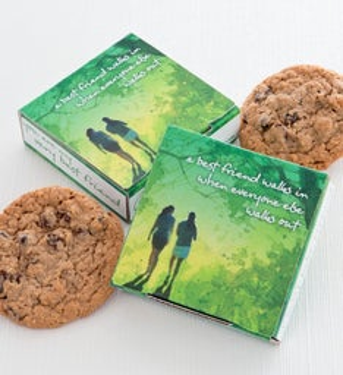 Very Best Friends Delilah Cookie Card
