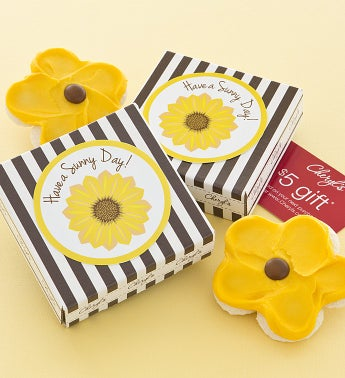 Have a Sunny Day Cookie & Gift Card