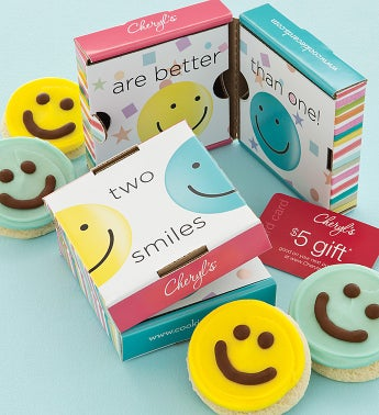 Smile Cookie & Gift Card 2 Pack