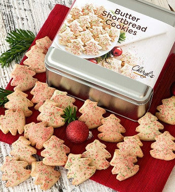 Butter Shortbread Holiday Gift Tin