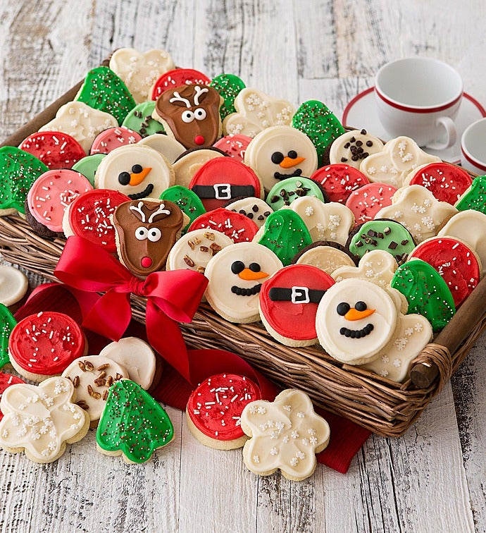 Christmas Cookie Baskets