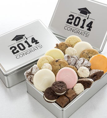 2014 Graduation Tin with Treats