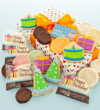Happy Birthday Fancy Cookie Gift