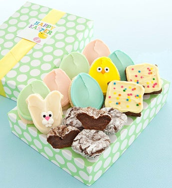 Easter Truffles and Cookies and Brownies