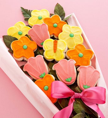 Mothers Day Cookie Flowers