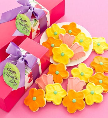 Mothers Day Gift Box - Cutout Cookies